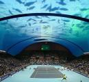 Cancha de tennis submarina