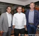 Chef Carlos Gaytan, Chef Maycoll Calderon y Chef Guillermo Gonzalez