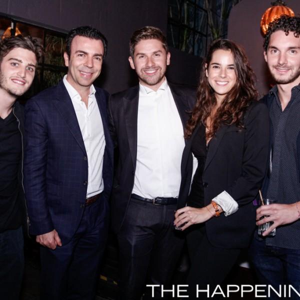 Jose Schnaider, Alejandro Ramírez, Juan Carlos Valladolid, Jeanette Millán y Antonio Harfuch